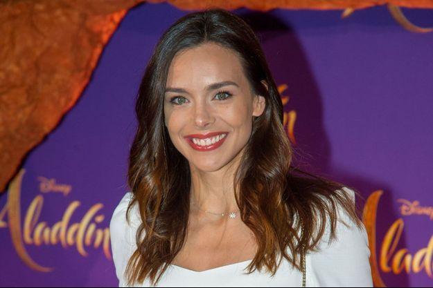 "Marine Lorphelin à la première d'""Aladdin"" en mai 2019"