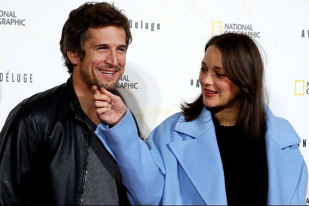 Guillaume Canet et Marion Cotillard à Paris, le 17 octobre 2016.