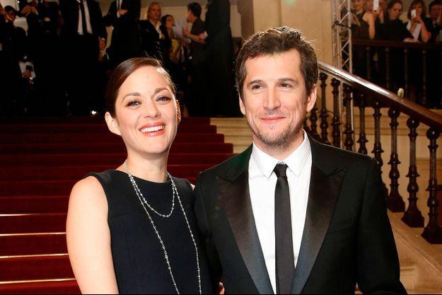A eux deux, ils comptent cinq César. Ici, au Théâtre du Châtelet avant la cérémonie de remise, en février 2015.