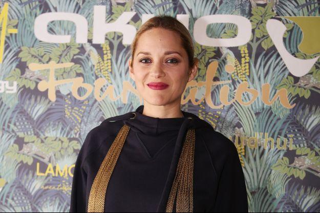 Marion Cotillard au cabaret Lido, le 17 janvier 2018.