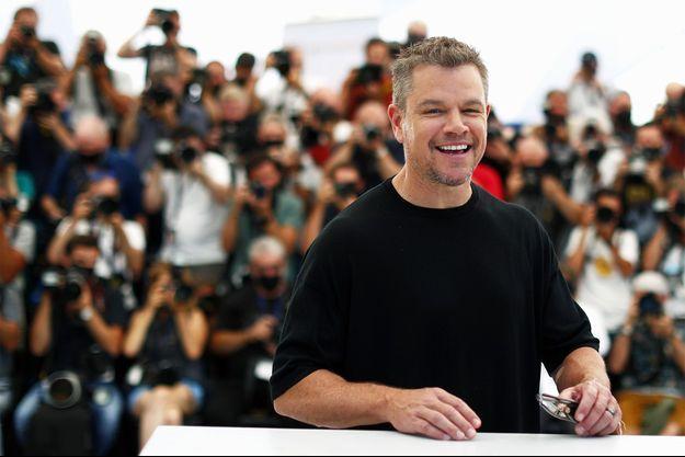 Matt Damon à Cannes.