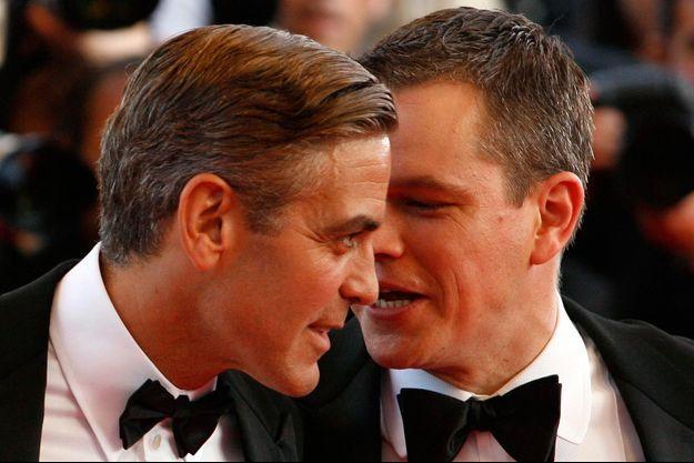 George Clooney et Matt Damon
