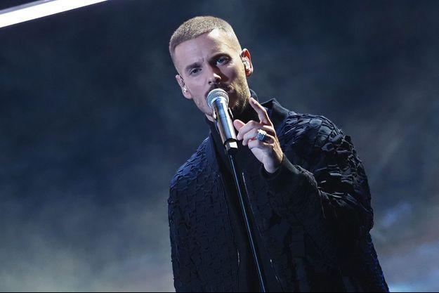 Matt Pokora aux NRJ Music Awards à Paris en décembre 2020