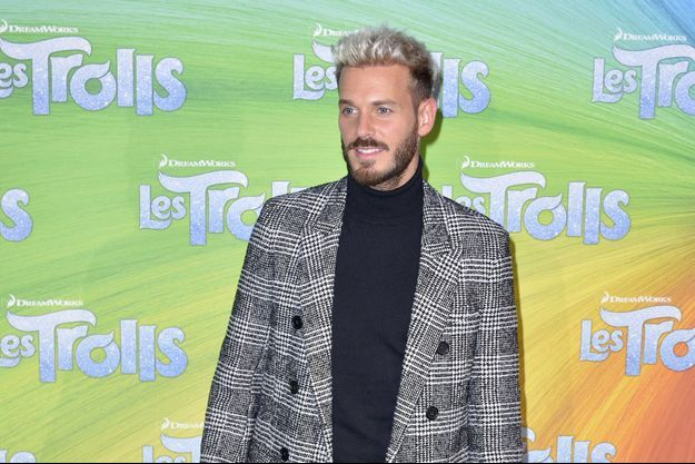 Matt Pokora à Paris, le 12 octobre 2016
