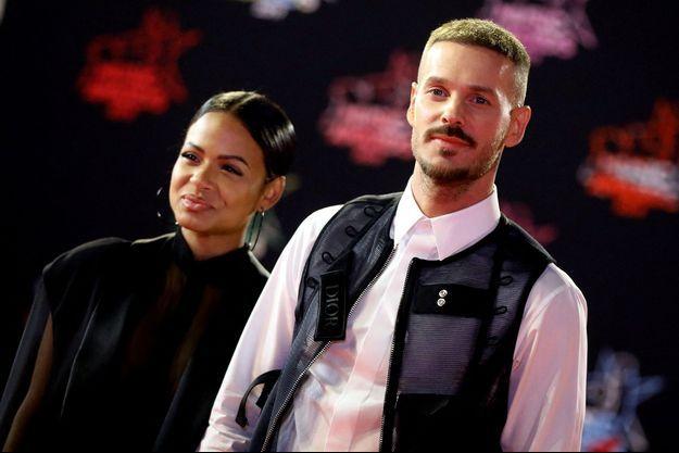 Christina Milian et Matt Pokora aux NRJ Music Awards en 2019