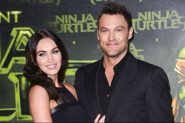 Megan Fox et Brian Austin Green en 2015