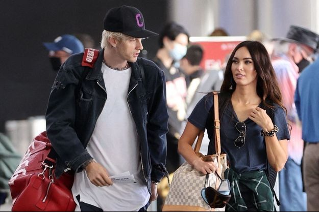 Megan Fox et Machine Gun Kelly à Los Angeles en juin 2020.