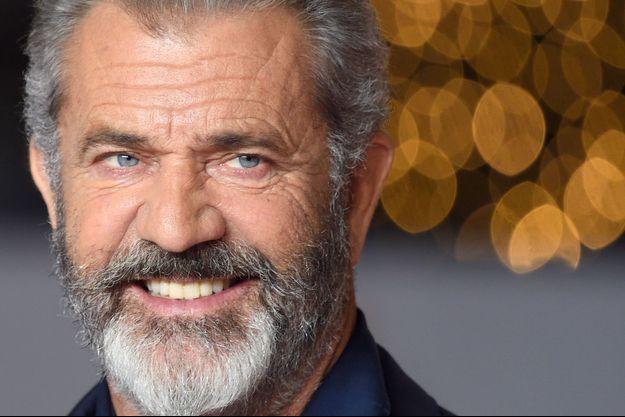 Mel Gibson à Londres en novembre 2017.