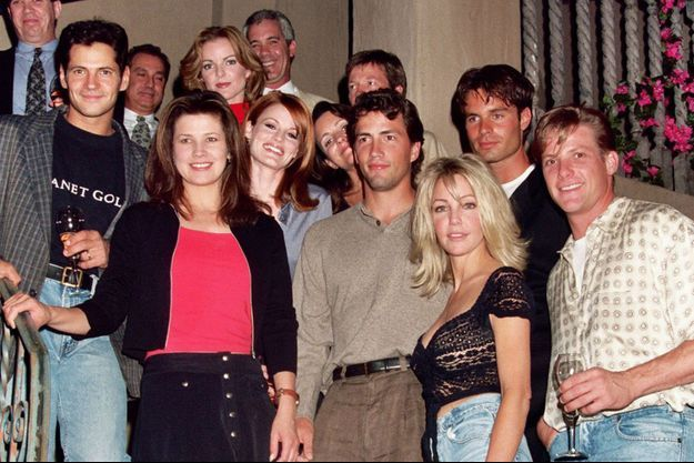 """Le casting de """"Melrose Place"""" en 1995"""