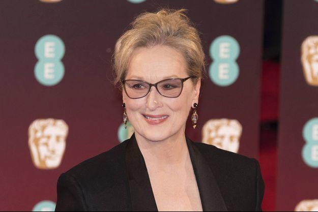 Meryl Streep le 12 février à Londres.