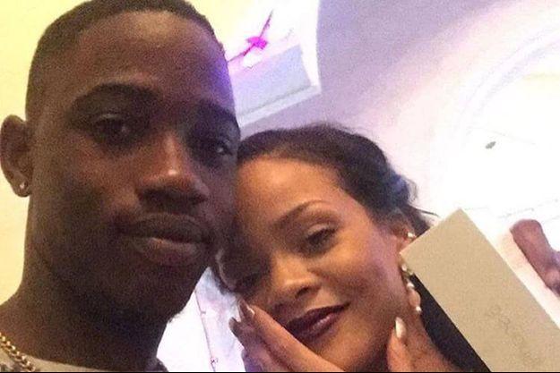 Rihanna et son cousin Tavon.