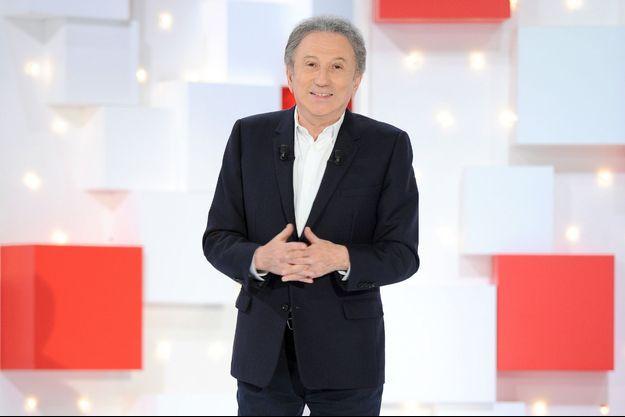 Michel Drucker à Paris en mars 2020