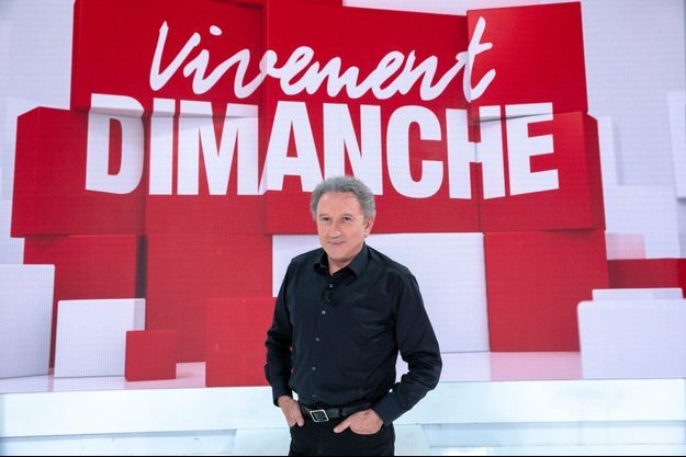 Michel Drucker en 2018.