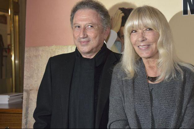 Michel Drucker et son épouse Dany, en 2014.