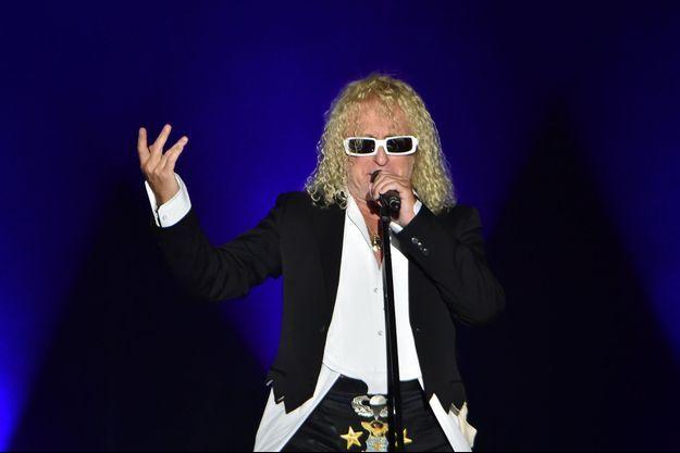 Michel Polnareff en concert à la Courneuve en 2016.