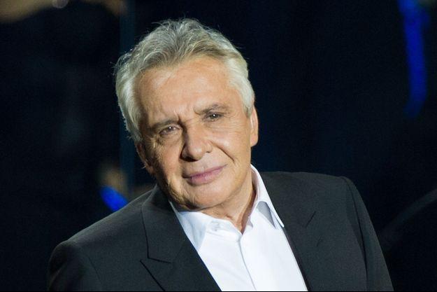 Michel Sardou le 12 décembre 2012 à Paris.