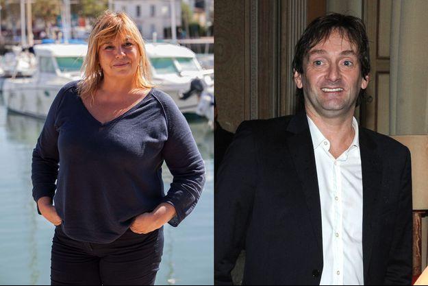 Michèle Bernier et Pierre Palmade