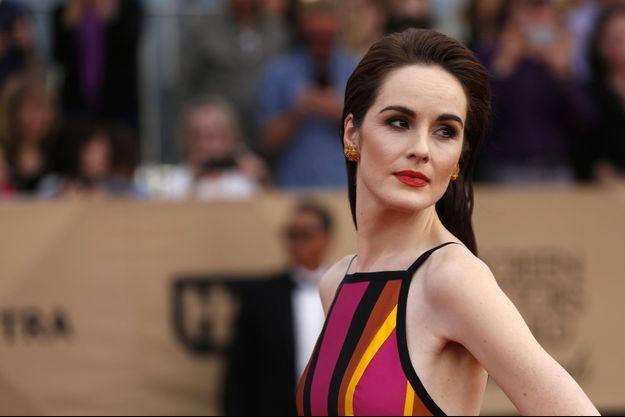 """Michelle Dockery, qui incarne Lady Mary Crawley dans la série culte """"Downton Abbey"""", photographiée à Los Angeles en janvier dernier."""