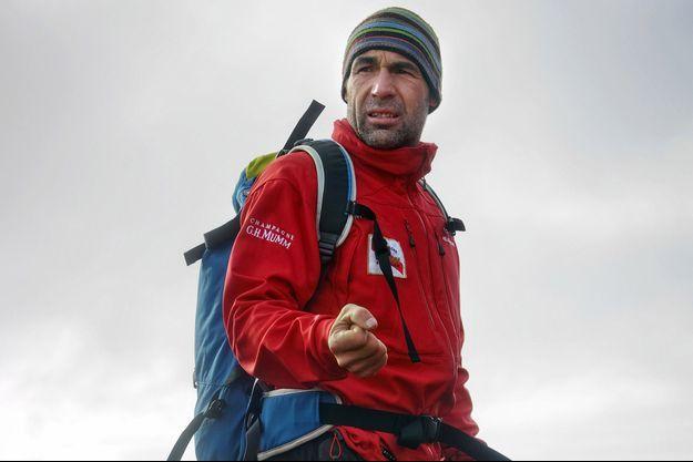 Mike Horn en Antarctique en 2008.
