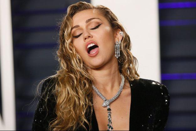 Miley Cyrus à Beverly Hills, le 24 février dernier.