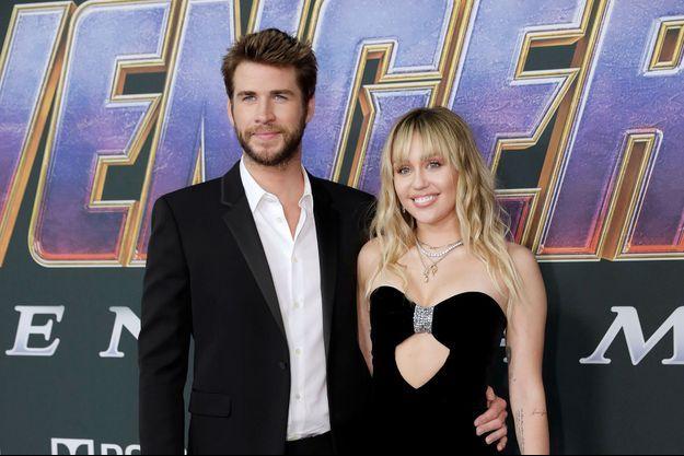 Miley Cyrus et Liam Hemsworth en avril 2019 à Los Angeles