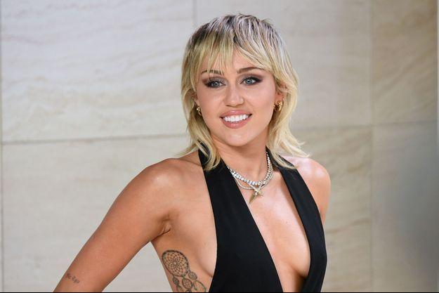 Miley Cyrus en février 2020