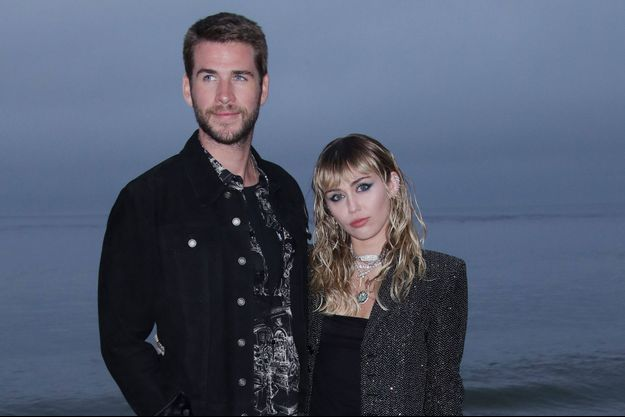 Liam Hemsworth et Miley Cyrus à Los Angeles en juin 2019.