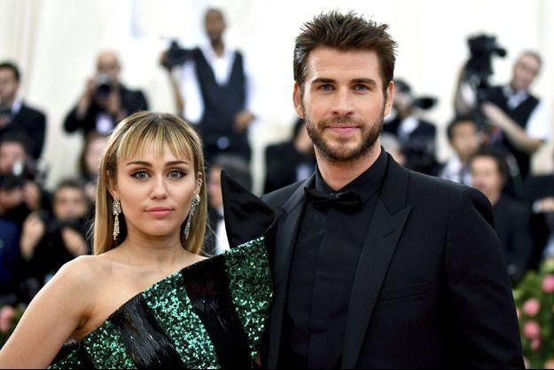 Miley Cyrus et Liam Hemsworth au gala du MET en mai 2019