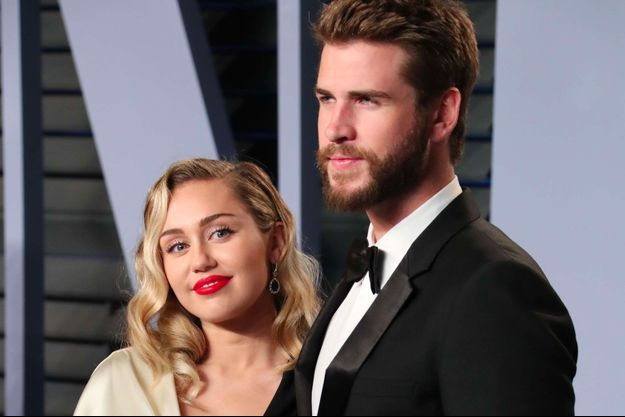 Miley Cyrus et Liam Hemsworth, mars 2018