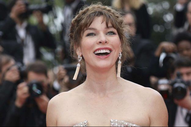Milla Jovovich au Festival de Cannes 2019