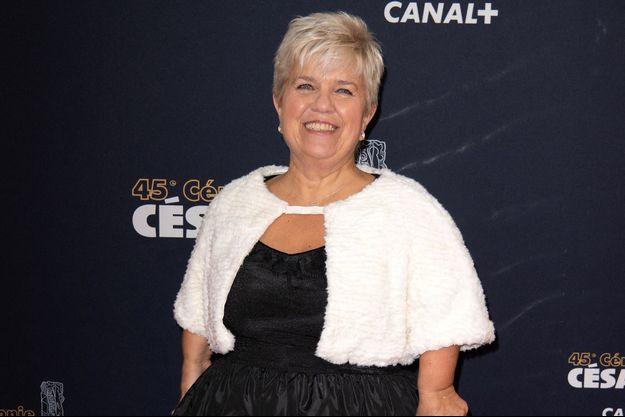 Mimie Mathy à Paris en février 2020.