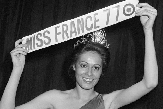 Miss France 1977 Véronique Fagot