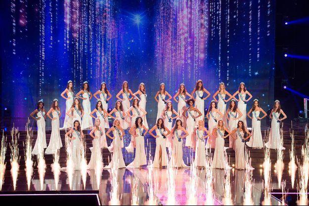 Les 30 candidates à l'élection Miss France 2017