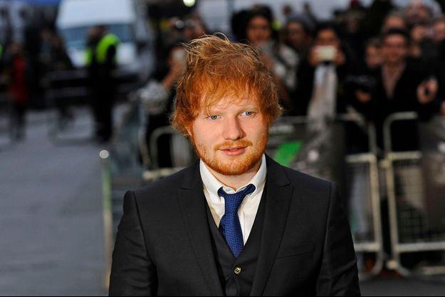 Ed Sheeran le 22 octobre 2015 à Londres.