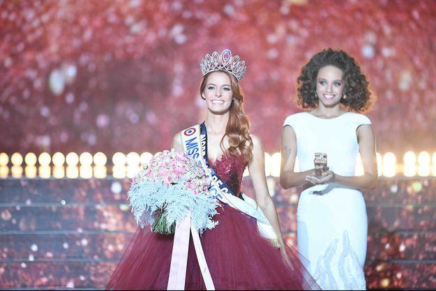 Maëva Coucke couronnée Miss France 2018.