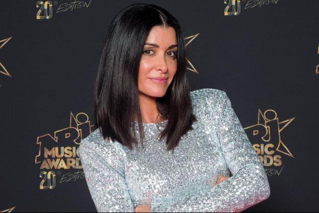 Jenifer à la soirée des NRJ Music Awards, le 10 novembre 2019