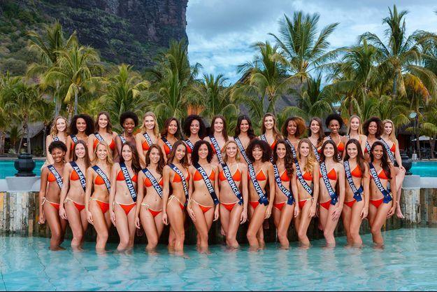 Toutes les candidates au concours Miss France 2019