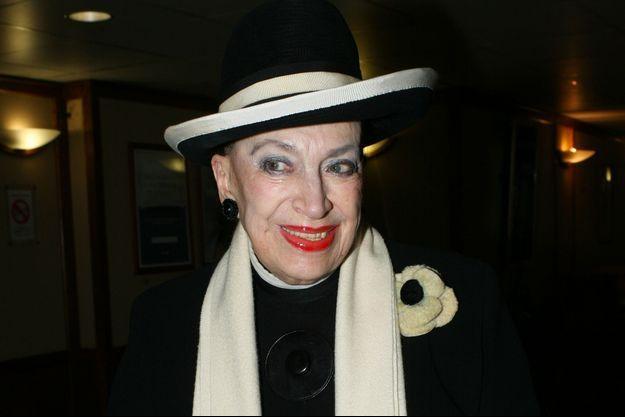 Geneviève de Fontenay en décembre 2017.