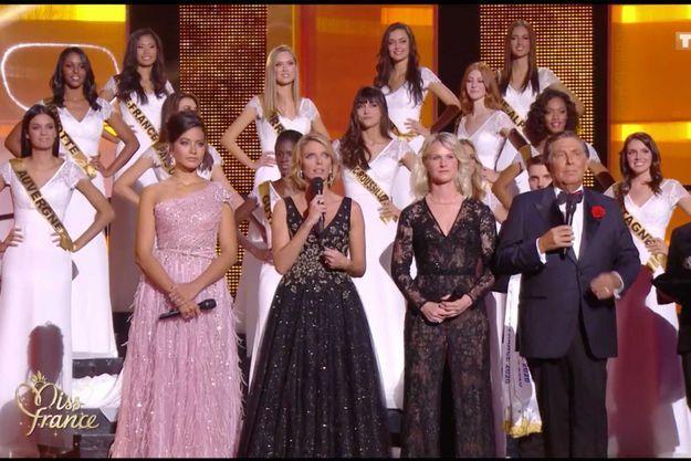 Sylvie Tellier a rendu hommage à Gaëlle Voiry samedi lors de l'élection Miss France 2020.
