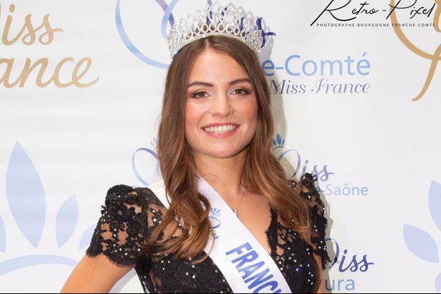 Coralie Gandelin, Miss Franche-Comté, en octobre 2020