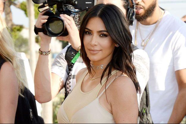 Kim Kardashian à Los Angeles, en juin 2016.