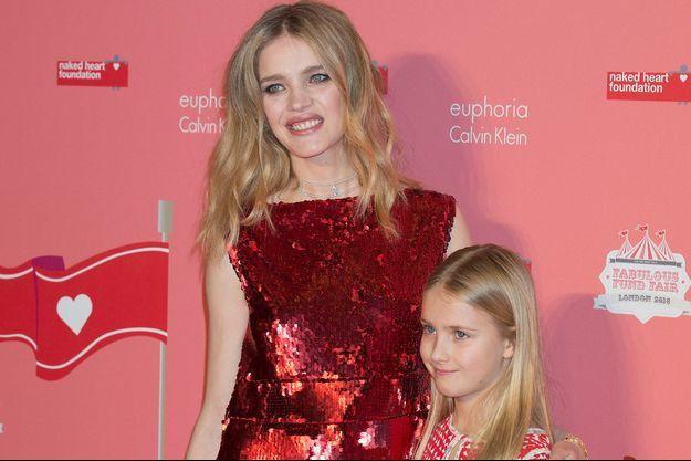 Natalia Vodianova et sa fille Neva Portman