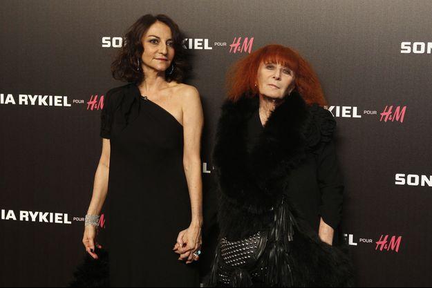 Nathalie et Sonia Rykiel en 2009.