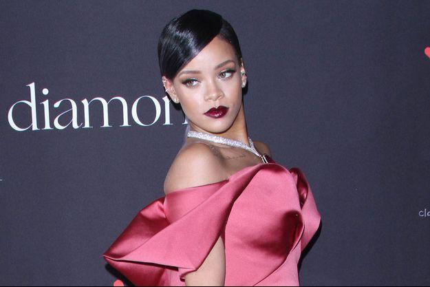 Rihanna à la première édition de son gala caritatif, le Diamond Ball, à Los Angeles le 12 décembre dernier