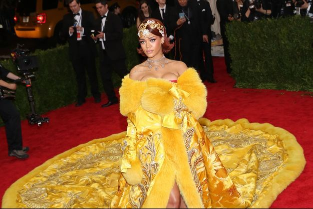 La robe de Rihanna, star du Met Ball 2015