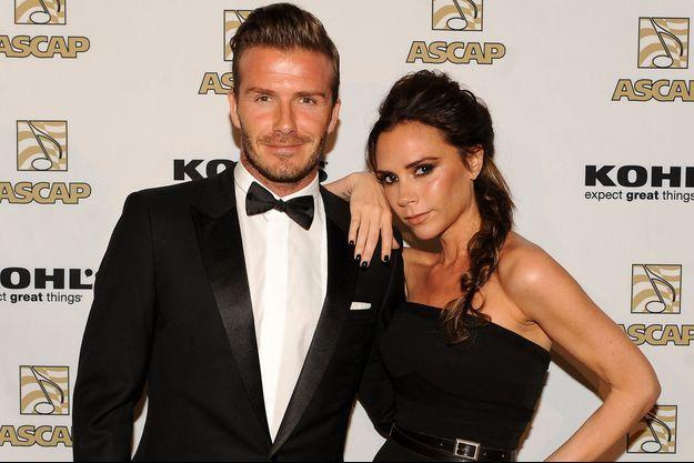 David Beckham balance sur les préférences (alcooliques) de son épouse.