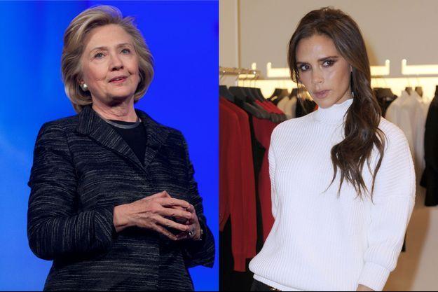 Victoria Beckham rêverait d'habiller la candidate démocrate à la présidentielle 2016.