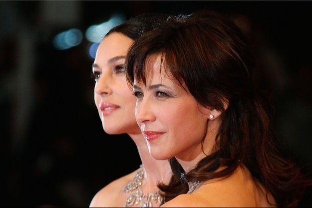 Sophie Marceau et Monica Bellucci
