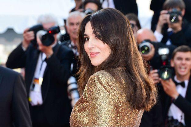 Monica Bellucci au festival de Cannes 2017.