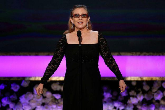 Carrie Fisher en janvier 2015.